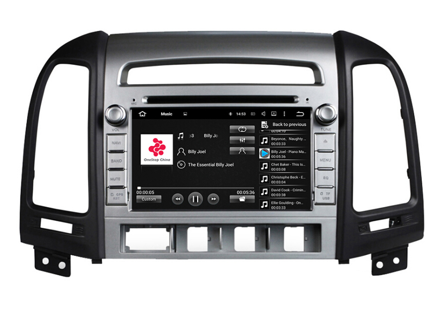 Android 7.1 Hyundai Santa FE Car DVD Player