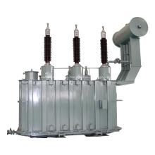 Transformador de potencia sumergido en aceite