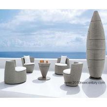 Открытый сад мебель Мебель/плетеная мебель стол и стулья 7016