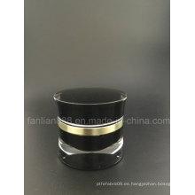 Customerized botellas de acrílico / tarros de crema para el empaque cosmético