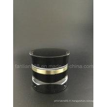 Bouteilles acryliques personnalisées / gain en crème pour emballage cosmétique
