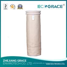 Resistencia de alta temperatura de la industria tabacalera Bolsa de filtro de polvo Nomex