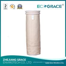 Sac de filtre de poussière de Nomex de résistance à hautes températures d'industrie du tabac