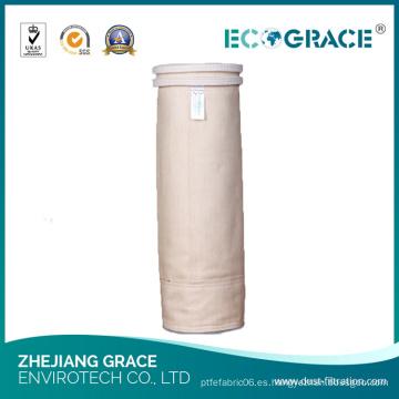 Calcetín del filtro del polvo del fieltro de la tela de Nomex (D160mmXL 2500mm)