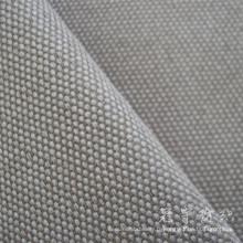 Tissu 100 % polyester Imitation lin pour canapé