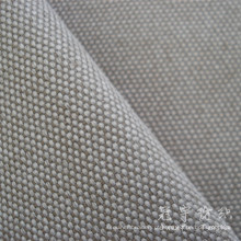 Tecido 100% poliéster de linho de imitação para o sofá