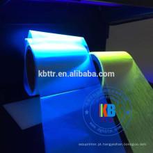 Impressora de cartão de segurança de luz ultravioleta azul fita uv invisível p330i