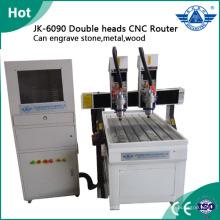 Máquina de cnc gravura placa de metal para arranque de negócios