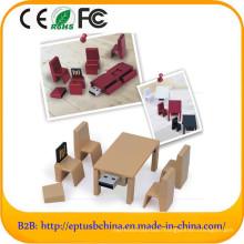 Chair Desk Shape USB Pen Flash Drive with Custom Logo (ET686)
