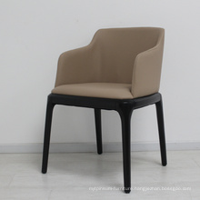 New Fabric Sofa Seat Dining Chairs with Metal Legs