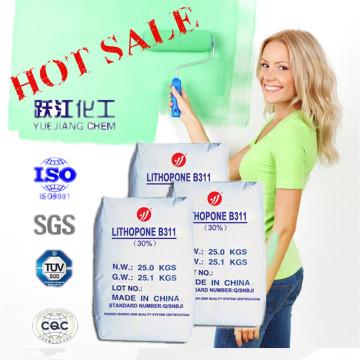 Высококачественный 30% литопон для покрытия с ISO9001 и SGS (B311)