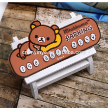 Mobile phone number plate, car parking card car parking board Temporary card