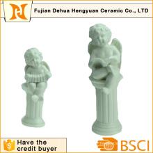 Artisanat en céramique en forme d'angle pour décoration intérieure