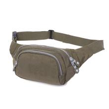 Popular customized polyester material  high quanlity waist bag for women fashion design waist bag