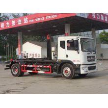 DONGFENG 10CBM Hooking Lift Garbage Truck Dumping Type