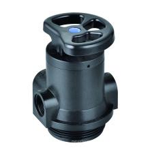 Válvula manual de filtragem de água