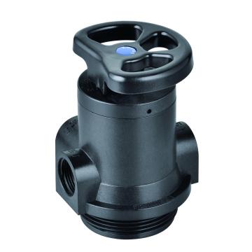 Vanne de filtre manuelle pour systèmes de traitement de l'eau