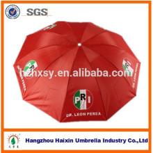 3 faltender Wahlregenschirm für Regen