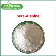 Poudre fine d'acide aminé bêta-alanine