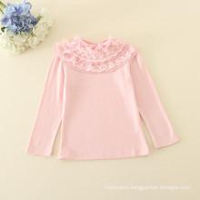 one piece child girls undershirts girls pink undershirts underwear wholesale 2016 autumn for baby girls