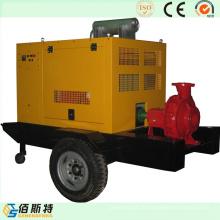 Ensemble de pompe à eau diesel haute qualité pour l'irrigation mobile