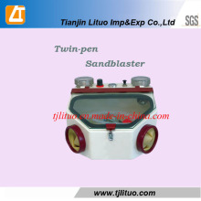 Twin-Pen Sandblaster for Dental Equipment