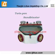 Twin-Pen Sandblaster для стоматологического оборудования