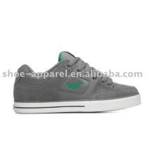 zapatos de skate casuales con suela de cuero