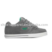 chaussures de skate décontractées avec du cuir de suède