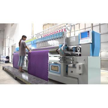 Máquina de bordar amassada computadorizada Cshx-322 para cama
