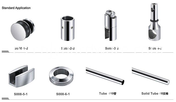 High Grade Sliding Glass Shower Door Hardware