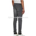 Slim-fit stretch denim cargo pants baggy biker denim pants