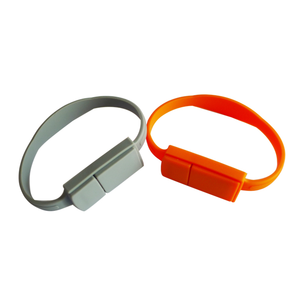 Easy carry bracelet wristband usb memory stick