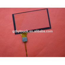 6H 7 inch GPS customized projected capacitive touch panel