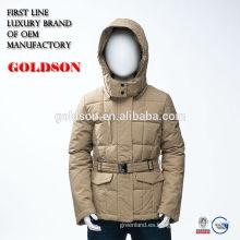 La capa del invierno de la manera del bebé para la ropa china de la marca del vestido de los inviernos