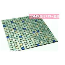 Azulejo de mosaico Protector contra salpicaduras Piedra natural