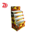 Chocolate paper ladder floor display stand