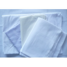 Polyester Cotton Bleach White School Shirt Fabric