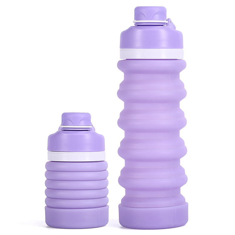 Collapsible Water Bottle Silicone Pocket-Sized Travel For Drinking