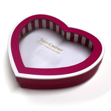 Luxury Heart Shape Gift Box with Window