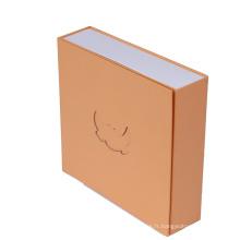Boîte de papier d'artisanat de cadeau de luxe d'impression personnalisée