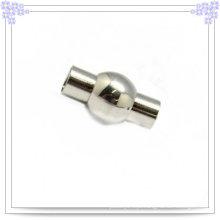 Aço inoxidável jóias de couro pulseira moda fecho (SL0002)