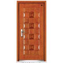 Puerta de acero 2014 popular de la puerta de seguridad externa de la puerta