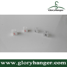 Colorido plástico cabide Square Sizer (GLPZ003)