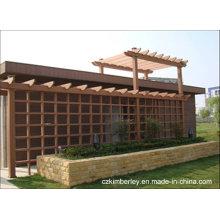 Barato e fino, Eco-Friendly, Green WPC Pavilion