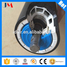 Anti corrosion HDPE Conveyor Carrying Roller for salt extraction conveyor