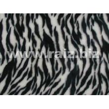 Tissu en peluche 100% polyester