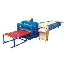 Automatic Galvanized Aluminium Colored Steel Metal Roofing Sheet Making Machine