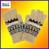 100%acrylic magic five fingers promotional gloves (STG1202)