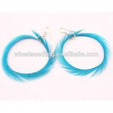 Art- und Weiseband-Ohrring-natürliche Kostüm-Ohrringe für Frau